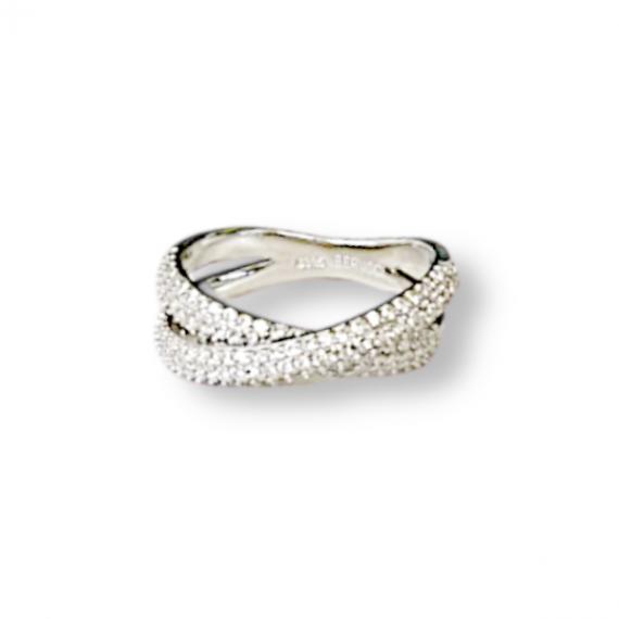 כסף סטרלינג 925 טבעת X עבה